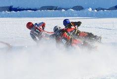 Rysk isspeedwaymästerskap Arkivbilder