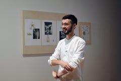 Rysk konstnär Ilya Fedotov-Fedorov Arkivbilder