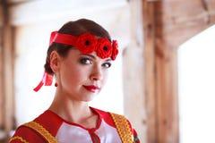 Rysk kvinna Arkivbild