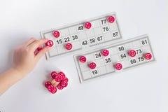 Rysk lotto royaltyfria bilder