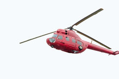 Rysk militär helikopter Arkivfoto