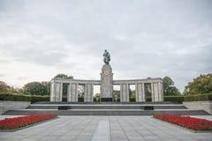 Rysk minnesmärke Royaltyfria Bilder
