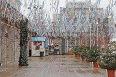 Rysk nationell festival` Shrove ` på den Tverskaya fyrkanten i Moskva Fotografering för Bildbyråer