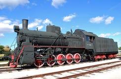 Rysk och sovjetisk lastmotor av serien AYR-170665 Tekniskt museum K G Sakharova Togliatti Royaltyfria Foton