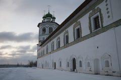 Rysk ortodox kloster Fotografering för Bildbyråer