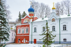 Rysk ortodox kloster Arkivbilder