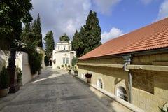Rysk ortodox kloster, Jerusalem Royaltyfri Fotografi