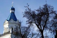 Rysk ortodox kyrka Royaltyfria Bilder