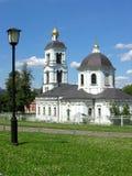 Rysk ortodox kyrka Arkivbild