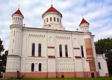 Rysk ortodox kyrka av den heliga modern av guden, Arkivfoton
