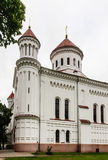 Rysk ortodox kyrka av den heliga modern lithuania vilnius Royaltyfria Foton