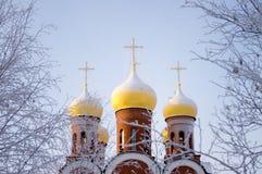 Rysk ortodoxkyrka royaltyfri foto