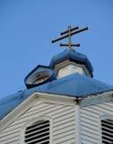 Rysk ortodoxkyrka Royaltyfria Foton