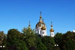 Rysk ortodoxkyrka Arkivfoton