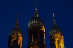 Rysk ortodoxkyrka royaltyfri bild