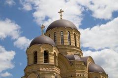 Rysk ortodoxkyrka Arkivbild