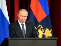 Rysk president Vladimir Putin arkivbilder