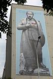 Rysk president Vladimir Putin som kläs som Josef Stalin royaltyfri foto