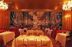 Rysk restaurang i New York, USA Fotografering för Bildbyråer