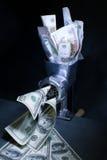 Rysk ruble som omvandlar Fotografering för Bildbyråer