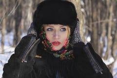 Rysk skönhet Fotografering för Bildbyråer