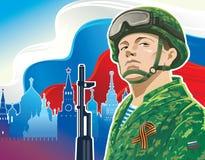 Rysk soldat Royaltyfria Foton