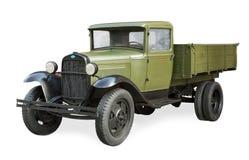 Rysk sovjetisk bil under det andra världskriget GAZ-AA Arkivfoto