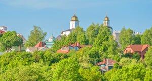 Rysk stad av Smolensk royaltyfri foto