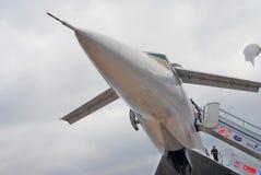 Rysk supersonic flygplanTupolev Tu-144 fotografering för bildbyråer