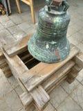 Rysk tempel av kyrkliga klockor, Ryssland Fotoet justeras Foto av konst Arkivfoto