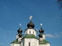 Rysk tempel av kyrkliga klockor, Ryssland Fotoet justeras Foto av konst Fotografering för Bildbyråer