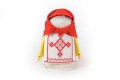 Rysk traditionell docka Krupenichka Arkivbild