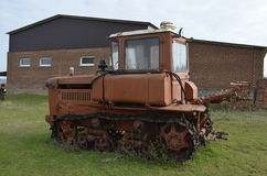 Rysk traktor Royaltyfri Fotografi