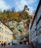 Rysk trappa i Graz Royaltyfria Bilder
