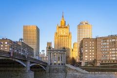 Rysk Utrikesdepartementet Arkivfoto