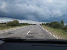 Rysk väg arkivfoton