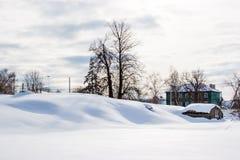 Rysk vinter Royaltyfria Foton
