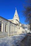 Rysk vinter. Moskva. Fotografering för Bildbyråer