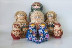 Ryska dockor royaltyfri foto