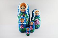 Ryska dockor - matrioshka Royaltyfria Bilder