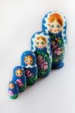 Ryska dockor - matrioshka Arkivbilder
