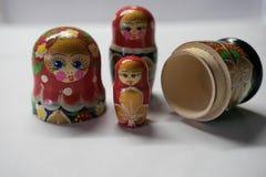 Ryska dockor - souvenir fr?n Ryssland arkivbild