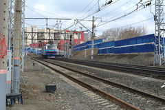 Ryska järnvägar (RZD) Royaltyfria Bilder