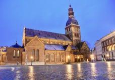 Ryska katedra Fotografia Royalty Free