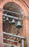 Ryska kyrkliga klockor Royaltyfri Foto