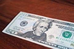 Ryska rubel och amerikanska dollar royaltyfri fotografi