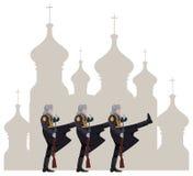 Ryska soldater Arkivfoton