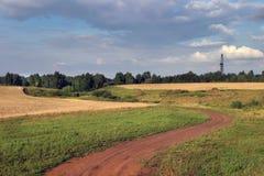 Ryska vägar Arkivbild