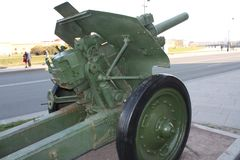Ryska vapen av v?rldskriget fotografering för bildbyråer