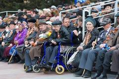 Ryska veteran WW2 Arkivfoton